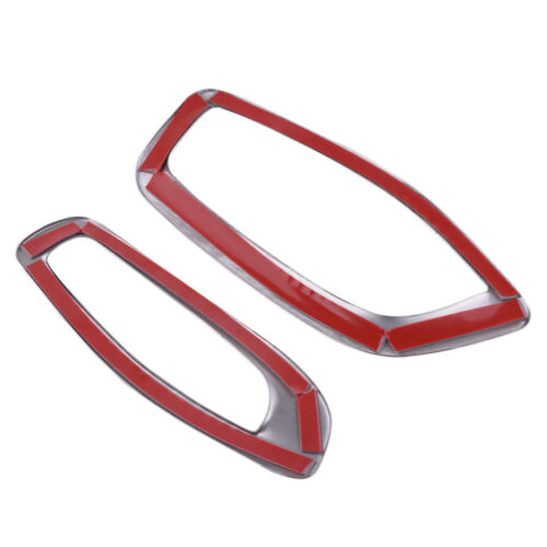 Stainless Steel Dashboard Air Condition Vent Frame Cover Trim For Volvo V60 S60