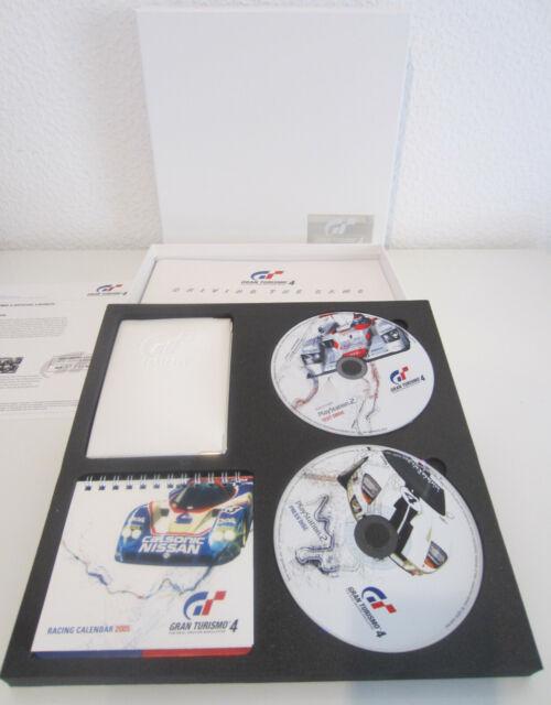 GRAN TURISMO 4 - PRESSKIT -  Sammlerstück - PS2 - 2005 Limited Edition - NEU