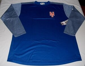 New-York-Mets-On-Field-Authentic-Therma-Base-Fleece-Pullover-2XL-Royal-MLB