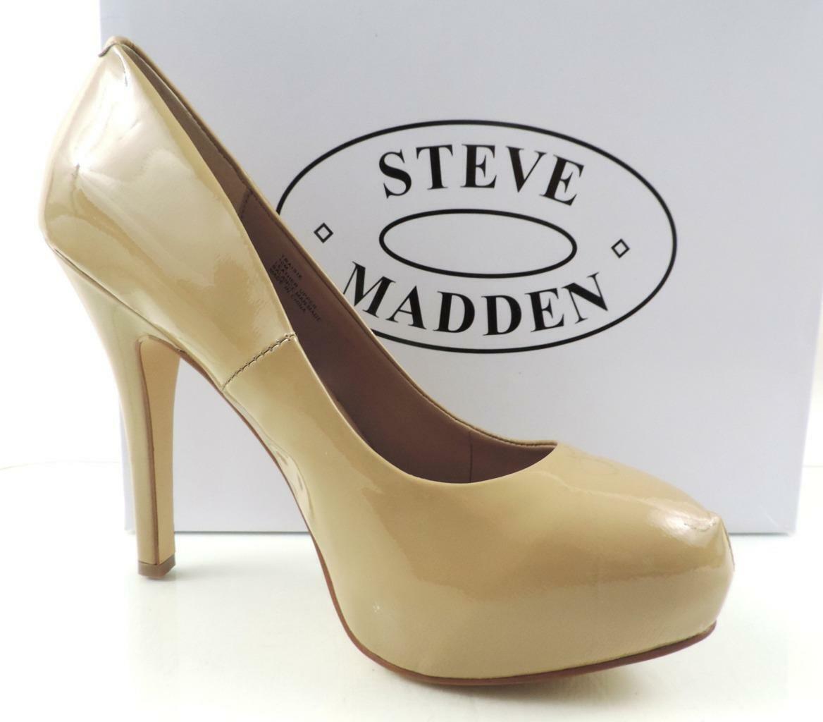 damen schuhe Steve Madden Traisie Platform Pumps Heels Blaush Patent Patent Patent Größe 10 16dca8