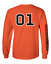 Cooter/'s Orange 01 Long Sleeve T-Shirt