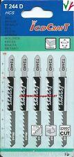5 LAME PER SEGHETTO ALTERNATIVO LEGNO PLASTICA ALLUMINIO 100 mm hacksaw blades