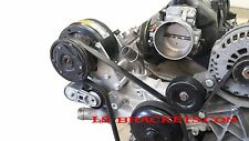 LS R4 A/C Relocation Bracket Turbo LQ,,LS2,LS3,LS6  WORKS WITH FACTORY AC LINES
