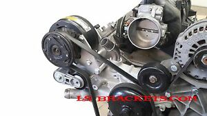 Details about LS R4 A/C Relocation Bracket Turbo LQ,,LS2,LS3,LS6 WORKS WITH  FACTORY AC LINES
