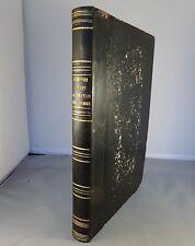 ZIMMERMANN / LE MONDE AVANT LA CREATION DE L'HOMME / 1857 (GRAVURES)
