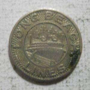 San Diego Transit Corp. Lot of ten CA745W 10 transit tokens California