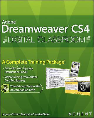 1 of 1 - Dreamweaver CS4 Digital Classroom by Aquent Creative Team, AGI Creative Team,...