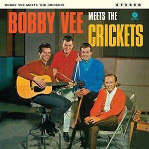 Vee-Bobby-Meets-The-Crickets-2-Bonus-Tracks-New-Vinyl