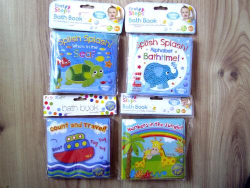 Enfants salle de bain imperméable bathtime fun jouet de bain livre chiffres voyage alphabet