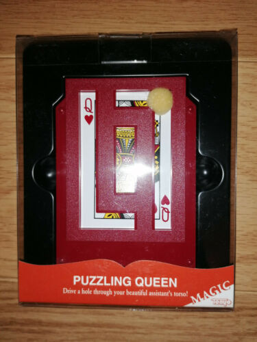 Tenyo Puzzling Queen T-185 Rare Collectors Magic Stunning Penetration Easy to do