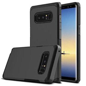 Hybride-Case-Pour-Samsung-Galaxy-S10-Plus-E-armure-robuste-antichoc-Housse-Noir