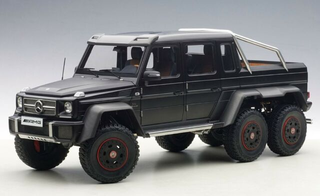 mercedes g63 amg 6x6 black 1/18autoart six wheels for sale