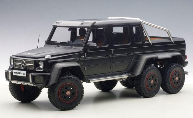 Mercedes G63 Amg 6x6 Black 1 18 By Autoart Six Wheels For Sale