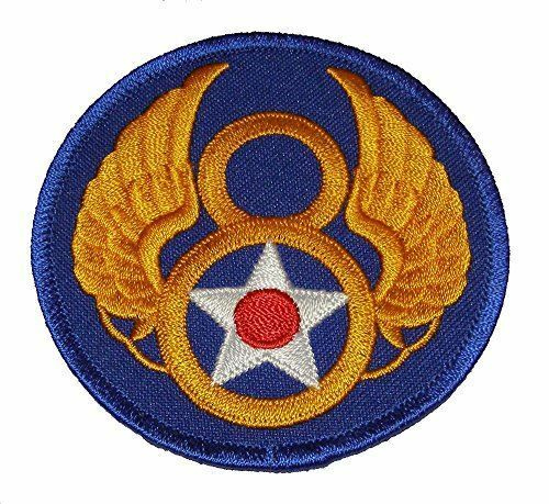 USAF EIGHTH 8TH AIR FORCE 8AF PATCH AIR FORCE GLOBAL STRIKE COMMAND BARKSDALE