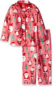 Image is loading Carter-039-s-Girls-039-Flannel-Christmas-Pajama- d6b7a4c53