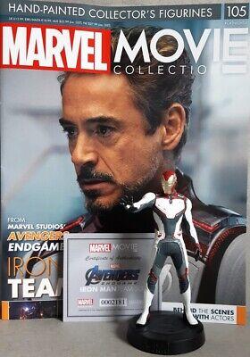 Avengers: Endgame frn MARVEL MOVIE COLLECTION #105 Iron Man Team Suit Figurine