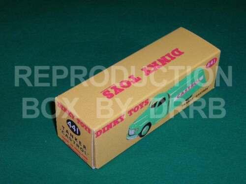 """Studebaker petrolero /""""Castrol/"""" Dinky #441 Caja de reproducción por drrb 30 Pa"""