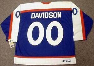JOHN DAVIDSON New York Rangers 1978 CCM Vintage Throwback NHL Hockey ... f3baf9105