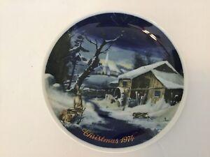 Royal-Bayreuth-Germany-3rd-Edition-Christmas-1974-8-Plate