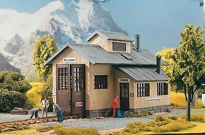 PIKO G SCALE ROSENBACH ENGINE SHED BN 62042