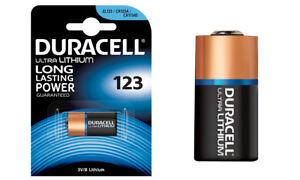 Duracell High Power Ultra Lithium Dl123 Cr123a 3v Battery 1 Pack