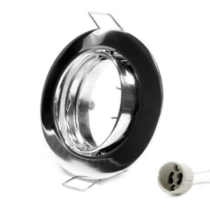 Telaio-di-Montaggio-GU10-Anello-a-Incasso-Decken-Spots-LED-Cromo