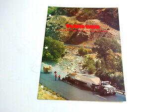 VINTAGE 1970'S FLOW BOY ST-1000 TRUCK SPREADER DEALER BROCHURE
