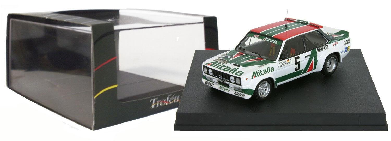 Trofeu 1429 FIAT 131 ABARTH vincitore Acropoli 1978-W Rohrl 1/43 SCALA