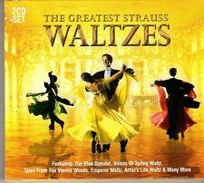(FD304) The Greatest Strauss Waltzes, 15 tracks - 2CDS - 2013