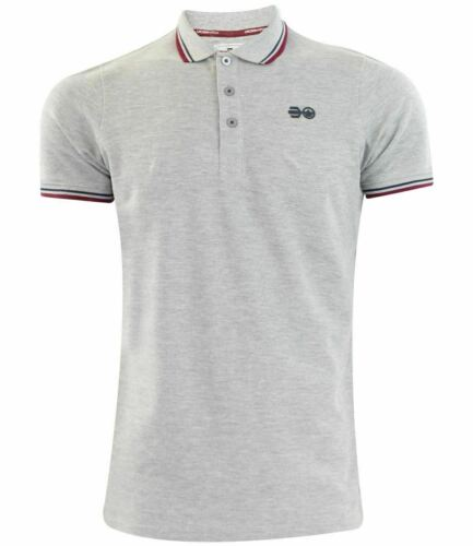 Mens Crosshatch T Shirts New Printed Short Sleeves Cotton Summer Casual Polo Top