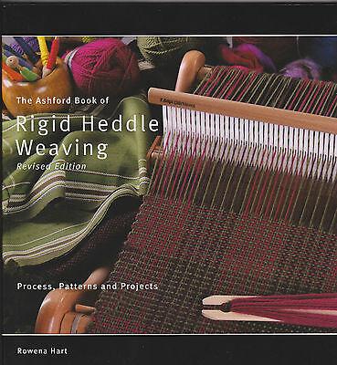BOOK - RIGID HEDDLE WEAVING - Rowena Hart Ashford - for all rigid heddle looms