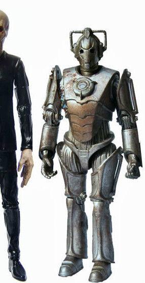 Doctor Who Figura corroídos Cyberman-directamente desde el conjunto de Coleccionistas Nuevo