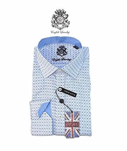 Size Varies               U-6 English Laundry Men/'s Dress Shirt Stretch Cotton