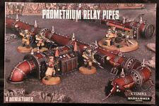 Warhammer 40K: Promethium Relay Pipes (65-48) NEW