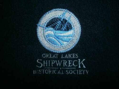 Historical bordado Lakes polar Abrigo Shipwreck Society Great barco de Forro wxwFqzHXR