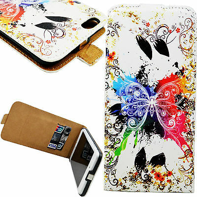 Butterfly Flip Card Slot PU Leather Case Cover For Apple iPhone 6 6S Plus 5.5""