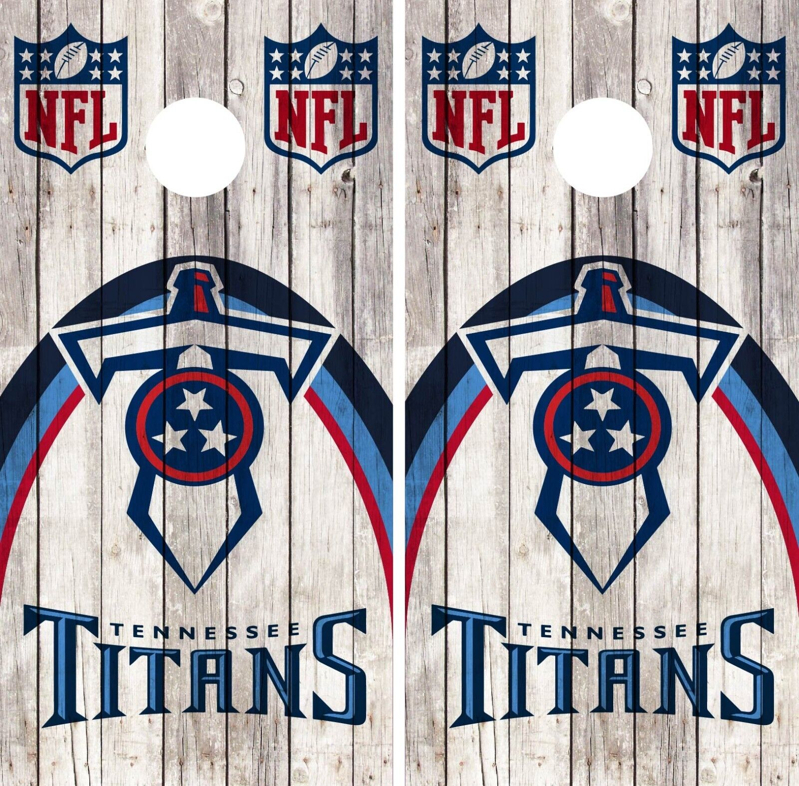 Tennessee Titans Cornhole Wrap NFL Wood Skin Game Board  Set Vinyl Art CO147  select from the newest brands like