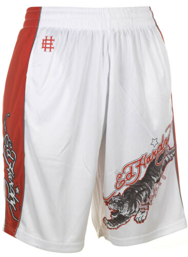 Ed Hardy Mens Sport 100/% Polyester Athletic Mesh Sweat Pants Shorts