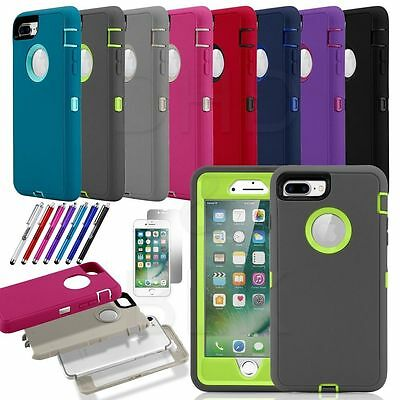 Protective Hybrid TPU Rugged Shockproof Hard Case Cover For Apple iPhone 7 Plus