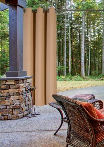Blackout Thermal Curtain Velvet 2 Panels Window Dressing Silver Grommet K68