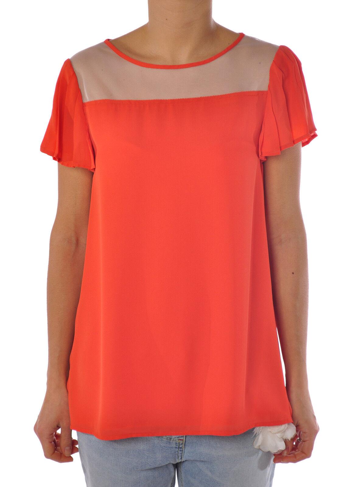 Patrizia Pepe  -  Blouses - Female - 42 - Orange - 1377905B163224