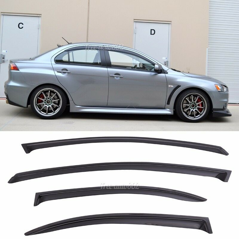Window Visors compatible with Renault Sc/énic Grand Sc/énic 2009