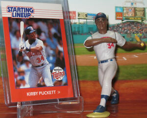 Starting Lineup Loose Figure 1988  KIRBY PUCKETT MINNESOTA TWINS SLU