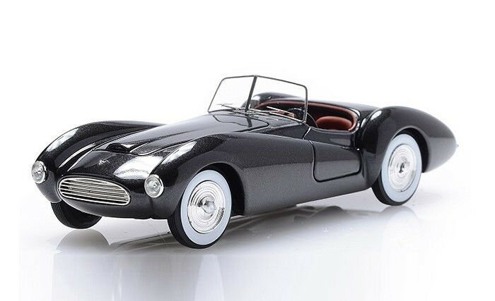 1 43 Esval 1953 Johnny oscuro victress S-1 Sport Roadster Negro EMU 43025A