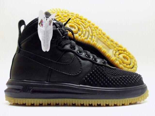 podgląd niższa cena z przyjazd Nike Lunar Force 1 Af1 Duckboot Black Anthracite Gum Bottom 805899 003