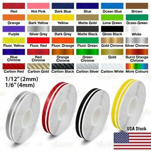"1//2/"" Roll Vinyl Pinstriping Pin Stripe Line Tape Sticker 12mm FLUORESCENT YELLOW"