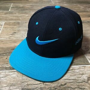57a07717 Vintage 80s 90s Nike BIG LOGO Bootleg Snapback Hat Cap Two-Tone RARE ...