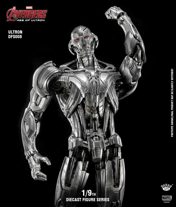 KING ARTS IRON MAN 1/9TH ULTRON DIECAST Action Figure Model MARVEL DFS008
