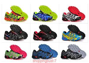 Details about Uomo Salomon Speedcross 3 Sneakers Outdoor Running escursione Scarpe sportive