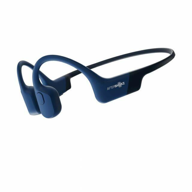 AfterShokz Aeropex Open-Ear Bone Conduction Wireless Headphones - Blue Eclipse